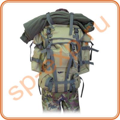 Рюкзак рейдовый Атака-2 предназначен для переноски в полевых условиях личных вещей и