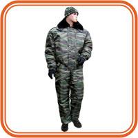 зимний камуфляжный костюм БАРС Снег М